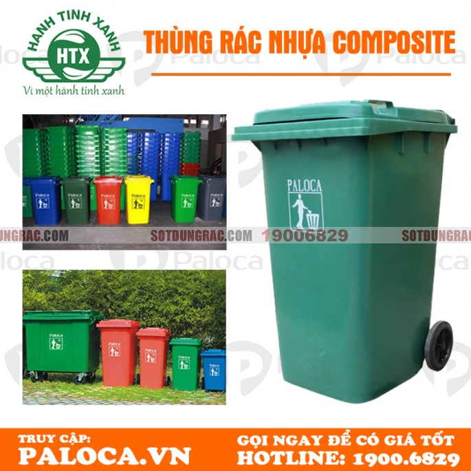 Đại lý bán thùng rác tại Tp. Hồ Chí Minh