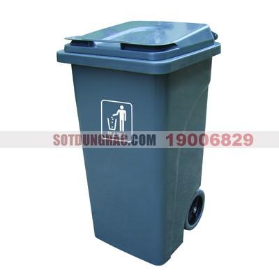 Thùng đựng rác nhựa hdpe 100l 120 lít 240 lít