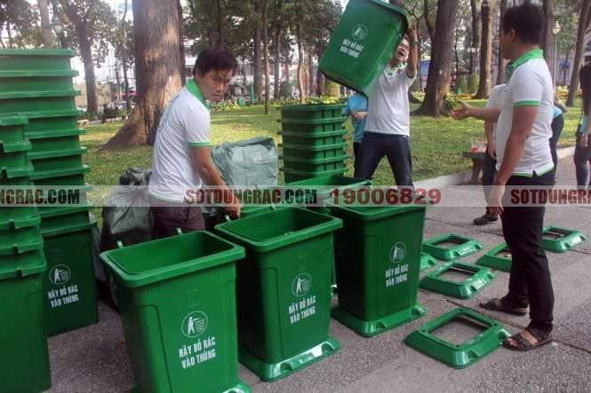 Đại lý bán thùng rác tại Ninh Bình