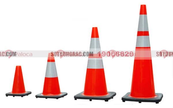 Cọc tiêu giao thông pvc nón chóp