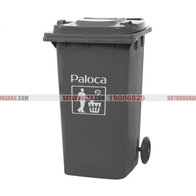 Thùng đựng rác nhựa HDPE 240l