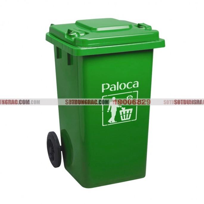 Thùng đựng rác nhựa công nghiệp 120l
