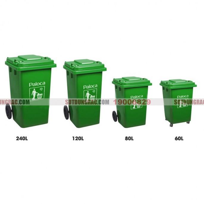 Thùng rác nhựa công nghiệp | Thùng rác nhựa công nghiệp 120 lít giá rẻ - Báo giá thùng rác nhựa công nghiệp 120l có bánh xe, thùng rác nhựa công nghiệp 120 lít nắp lật