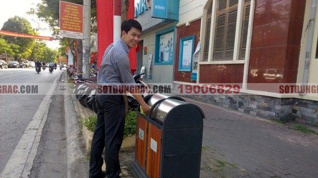 Đại lý bán thùng rác tại Trà Vinh