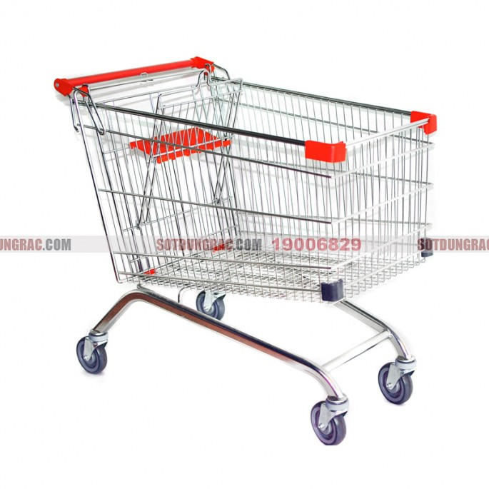 Xe đẩy hàng siêu thị giá rẻ
