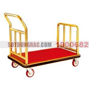 Xe đẩy hành lý inox cao cấp