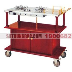 Xe đẩy phục vụ bàn bếp di động