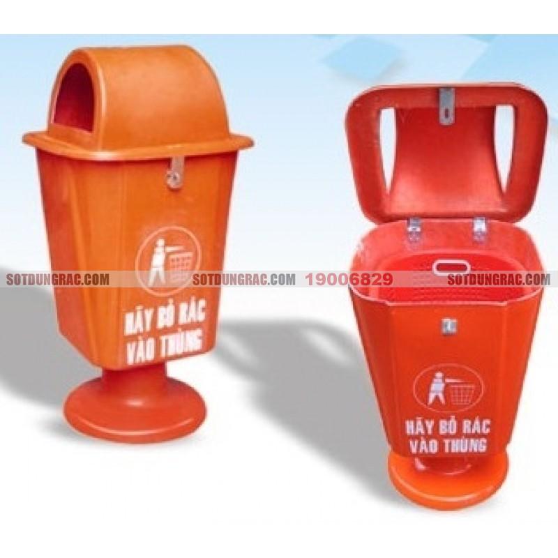 Thùng rác nhựa Sài Gòn