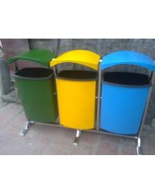 Thùng rác công cộng – Thùng rác xanh cho môi trường