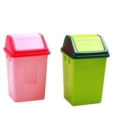 Thùng rác nhựa nắp lật công cộng
