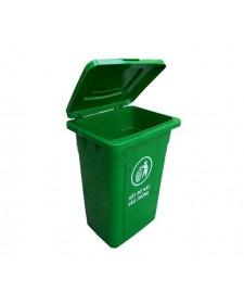 Thùng rác nhựa hdpe 90 lít nắp lật
