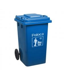 Sọt đựng rác bằng nhựa có bánh xe