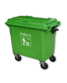 Thùng đựng rác nhựa composite loại 660l