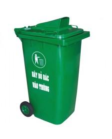 Thùng rác nhựa HDPE có nắp khe bỏ rác