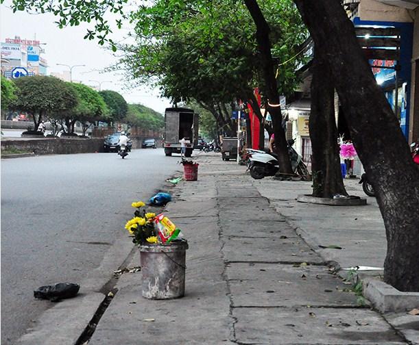Cần lắp đặt thùng rác tại Quảng trị