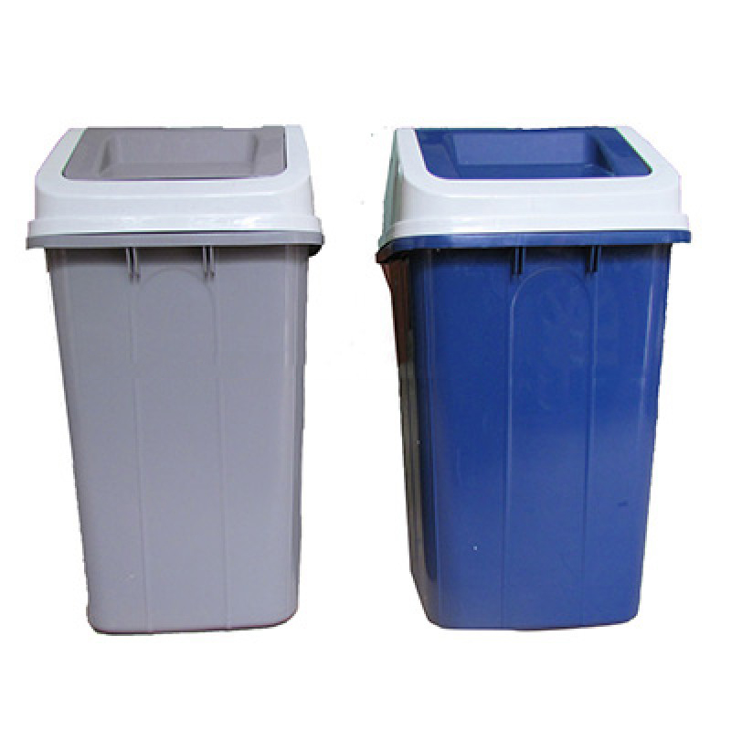 Thùng rác nhựa HDPE 60 lít nắp lật